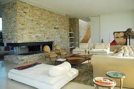 brilliant modern outdoor stone kitchen presenting big outdoor