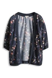 patron veste kimono esprit petite veste kimono vaporeuse à fleurs wishlist