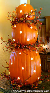 Pre Lit Topiary Pumpkin Topiary With Lights Amanda Jane Brown
