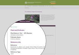 native plant database ecologist builds online database application using caspio saving