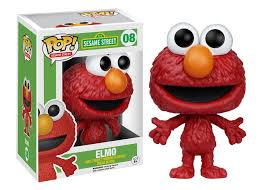 pop tv sesame street elmo funko