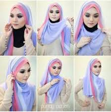 tutorial hijab noura lavisya hijab lavisya on pinterest