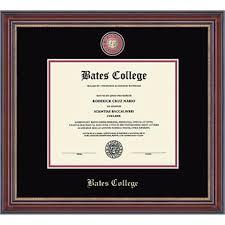 frame for diploma diploma frames bates college store