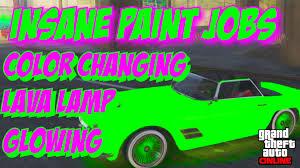 gta 5 online secret car colors lava lamp changing color