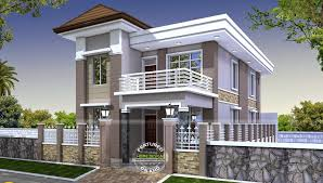 Home Design Double Story Double Storey Kerala Houses Front Elevations Amazing