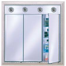 Bathroom Medicine Cabinet With Light Lighted Medicine Cabinets With Top Lights Or Side Lights In A
