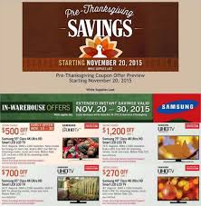 Thanksgiving Costco Hours Costco U0027s Huge Pre Black Friday Sale Ad Posted Killer Prices On