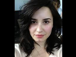 how look demi lovato looks drop dead gorgeous without makeup don 39 t you think when