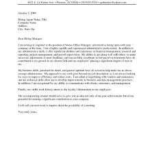 cover letters for administrative assistants cover letter for