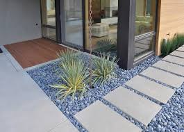 Pebbles And Rocks Garden Beautiful Design Landscaping Pebbles Concrete Paving Landscape