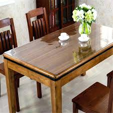 glass top to protect wood table dining room table covers protectors traditional glass dining room
