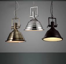 Metal Pendant Lights Modern Decorative Vintage Loft Copper Industrial Metal Hanging