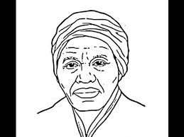 how to draw harriet tubman face sketch drawing step by step youtube