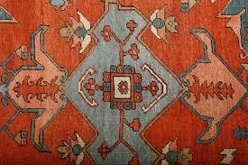 Red Turquoise Rug Beautiful Large Antique Serapi Persian Rug 51121 By Nazmiyal