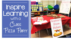 learning desk for how to inspire learning with a class pizza party k s classroom