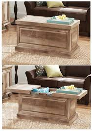 better homes and gardens crossmill coffee table update your living room tv room or den while creating hidden