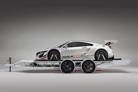 custom honda nsx 2017 acura nsx gt3 racecar makes an appearance at sema 2016 news