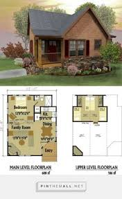 small two story cabin plans narrow lot home plan 67535 total living area 860 sq ft 2