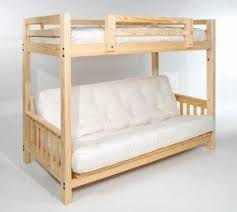 Futon Bunk Bed With Mattress Boys Bunk Beds Twin Over Full Foter