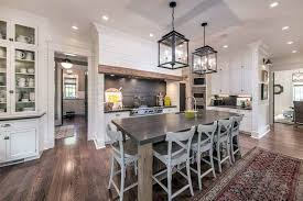 gray walls with stained kitchen cabinets farmhouse kitchen cabinets door styles colors ideas