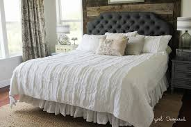 how to make an upholstered headboard inspired