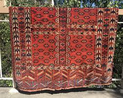Colorful Aztec Rug Native American Rug Etsy