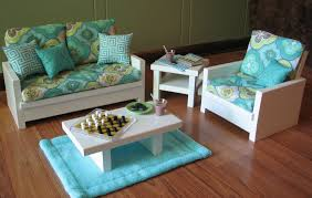 american doll table and chairs 21 american living room set doll loveseat chair table living