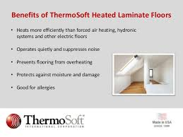 a guide to installing heated laminate flooring from thermosoft