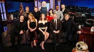 Seeking Episode Cast Jimmy Kimmel Live Wars The Last Jedi Cast