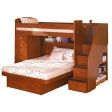 Stairs For Bunk Bed Berg Furniture Sierra Twin Over Full Loft Bed With Chest And Stairs