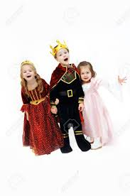 King Queen Halloween Costumes King Queen Princess Laughing Talking Pose
