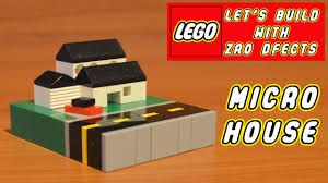 lego let u0027s build micro house youtube