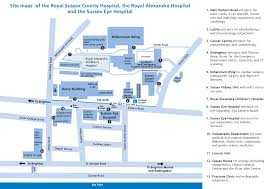 hospital maps virtual fracture clinic
