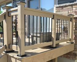 aluminum railing learn about this low maintenance metal for deck