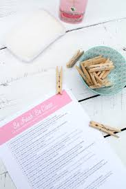 50 small spring cleaning tasks printable checklist lindsey crafter