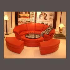 canapé circulaire magnifique collection de canapé et fauteuil design en cuir