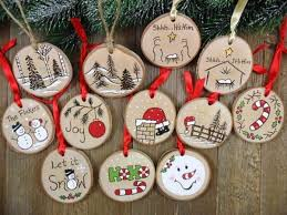 decorating yourself with wooden discs great craft ideas and lots of
