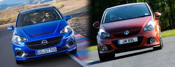 vauxhall corsa blue new 2015 vauxhall corsa opel opc new model vs old u2013 styling