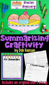 best 10 summarizing activities ideas on pinterest guided