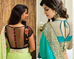 blouse designs top 7 stylish back neck blouse designs of 2017 modelling