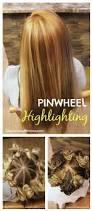 Colours For Highlighting Hair Pinwheel Highlighting