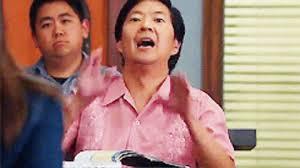 Senor Chang Gay Meme - ken jeong ha gay gif find share on giphy