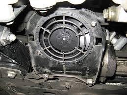 mini cooper power steering fan mini cooper s r53 power steering pump fan duct installation