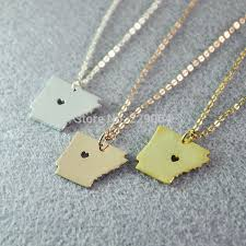custom necklaces cheap 46 best map necklace images on map necklace pendant