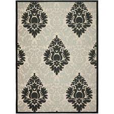 Safavieh Outdoor Rugs Gray Safavieh Outdoor Rugs Rugs The Home Depot