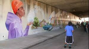 Mural Artist by West Oakland Mural Dedicated In Memory Of Slain Artist Antonio