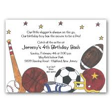 sports birthday invitations u2013 unitedarmy info