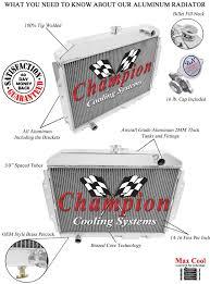 lexus concord ebay 1960 1962 american motors rambler aluminum 4 row champion radiator