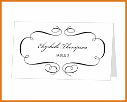 wedding place cards template place cards template letter format business