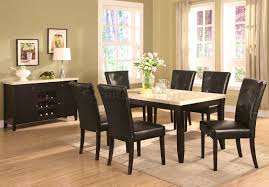 furniture prepossessing marble top dining table rejig home